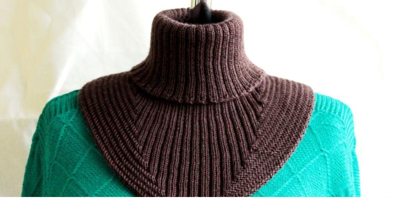 Манишка, как называется шарф воротник