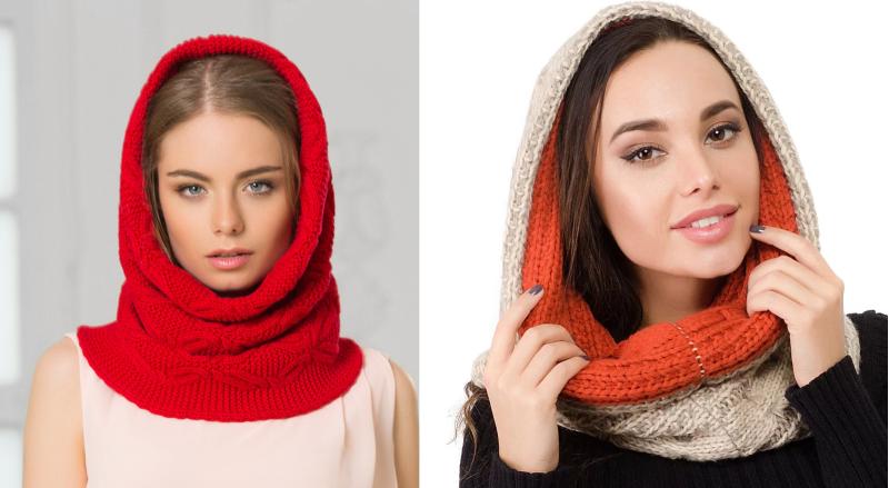 Шарф снуд, как называется шарф хомут