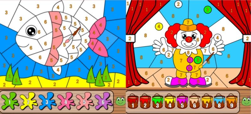 Как называется игра раскраска по цифрам и по клеточкам