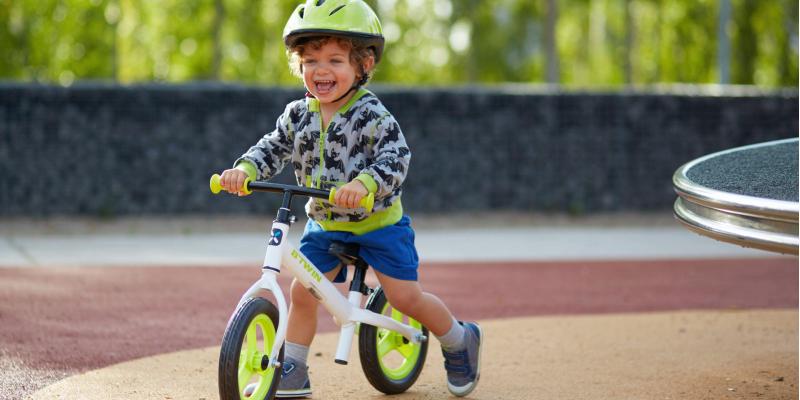 Как называется детский велосипед без педалей, беговел, ранбайк