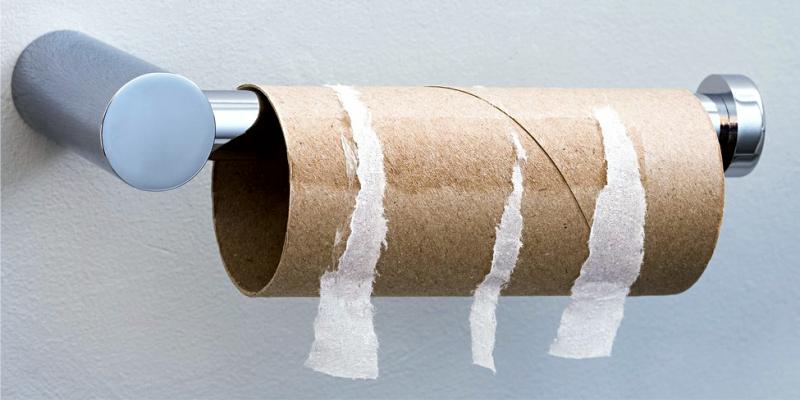 Как называется картонный цилиндр внутри туалетной бумаги