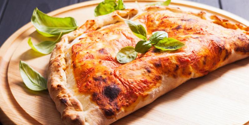 Как называется закрытая пицца, как называется пицца в форме полумесяца