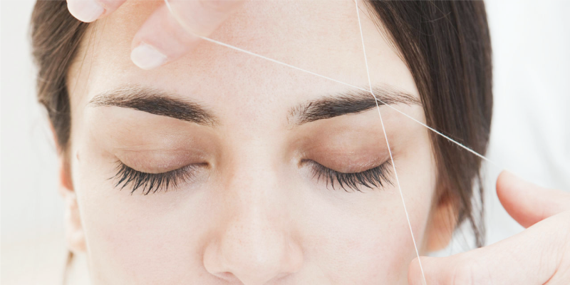 Как называется удаление волос ниткой, тридинг