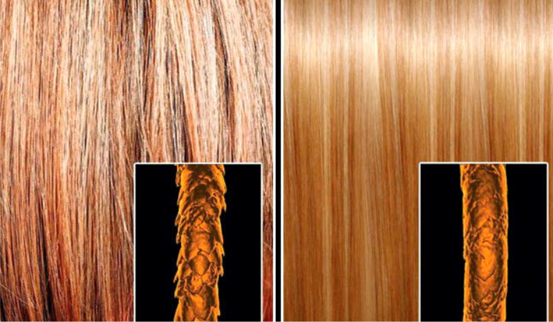Как называется выпрямление волос - кератиновое выпрямление