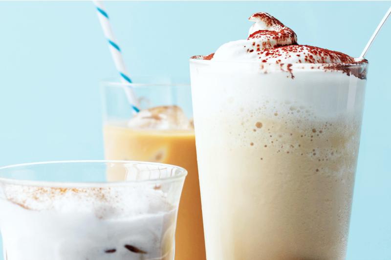 Фраппе, как называется кофе со льдом