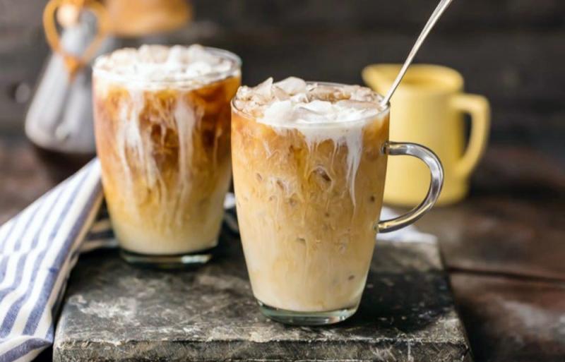 Холодный кофе, как называется кофе со льдом