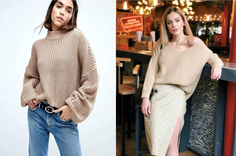 оверсайз, oversize, как называются большие свитеры
