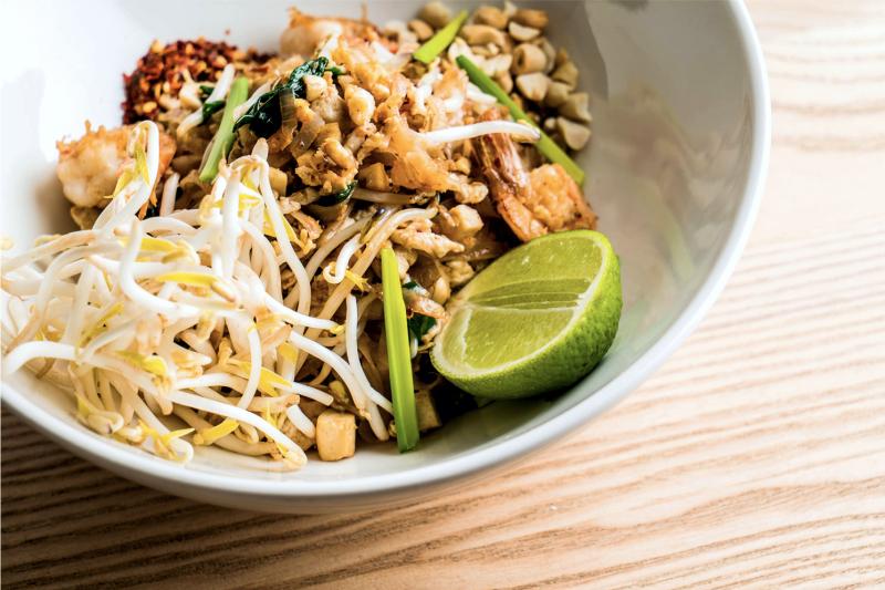 Как называется тайская рисовая лапша, пад тай