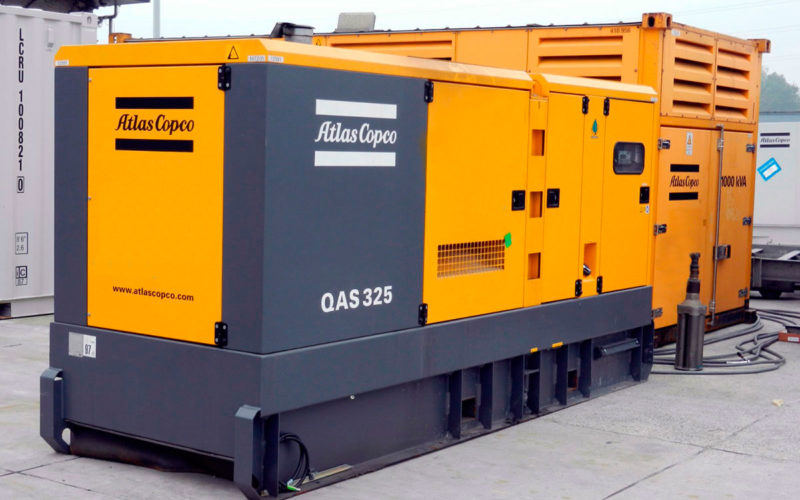 генератор. электростанция